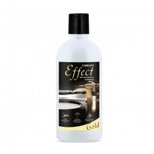 "Means for the care of chrome surfaces ""Effect Gold"""